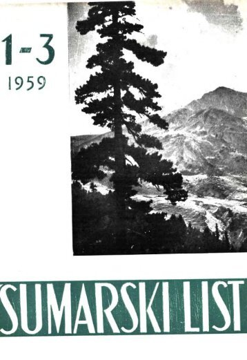 ÅUMARSKI LIST 1-3/1959