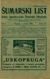 ÅUMARSKI LIST 6/1923
