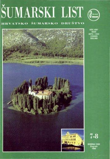 ÅUMARSKI LIST 7-8/1995 - HÅD