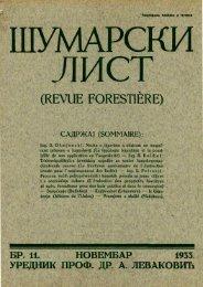 ÅUMARSKI LIST 11/1933