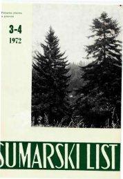ÅUMARSKI LIST 3-4/1972