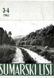 ÅUMARSKI LIST 3-4/1965