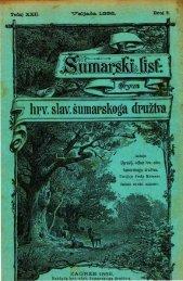 ÅUMARSKI LIST 2/1898