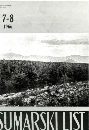 ÅUMARSKI LIST 7-8/1966