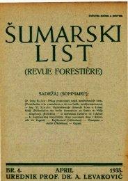 ÅUMARSKI LIST 4/1935