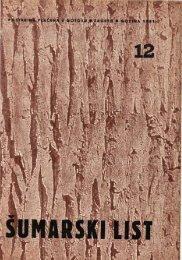 ÅUMARSKI LIST 12/1951