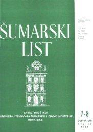 ÅUMARSKI LIST 7-8/1988
