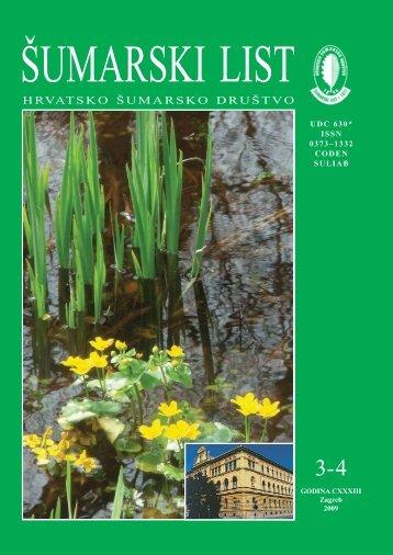 ÅUMARSKI LIST 3-4/2009 - HÅD