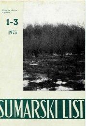 ÅUMARSKI LIST 1-3/1975