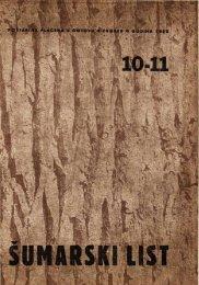 ÅUMARSKI LIST 10-11/1952