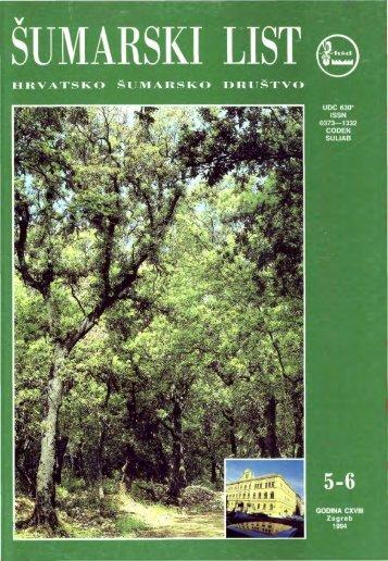 ÅUMARSKI LIST 5-6/1994 - HÅD