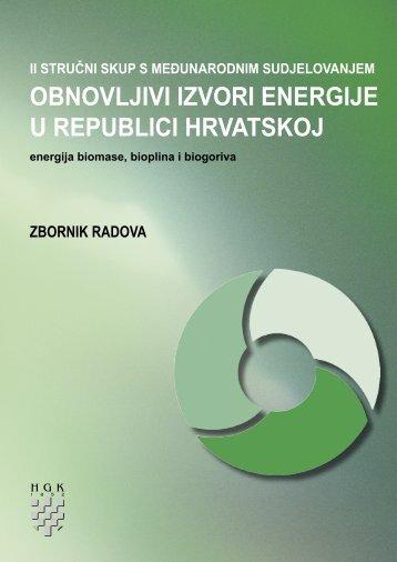 OBNOVLJIVI IZVORI ENERGIJE U REPUBLICI HRVATSKOJ
