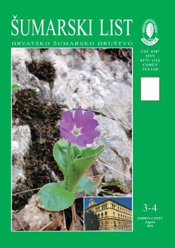 ÅUMARSKI LIST 3-4/2011 - HÅD