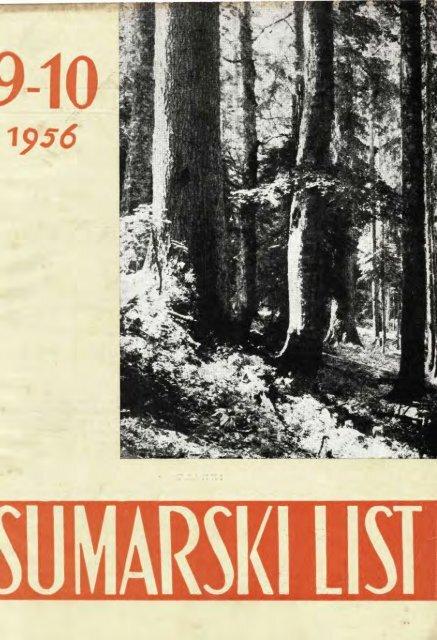 ÅUMARSKI LIST 9-10/1956