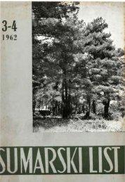 ÅUMARSKI LIST 3-4/1962