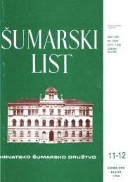 ÅUMARSKI LIST 11-12/1992 - HÅD
