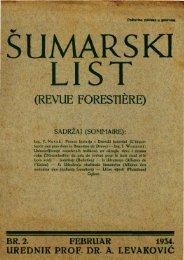 ÅUMARSKI LIST 2/1934