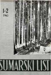 ÅUMARSKI LIST 1-2/1965