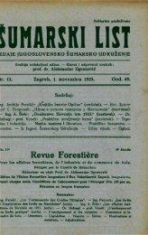 ÅUMARSKI LIST 11/1925