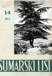 ÅUMARSKI LIST 5-6/1974