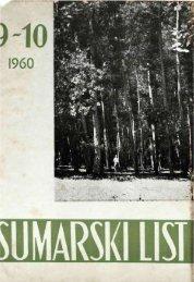 ÅUMARSKI LIST 9-10/1960