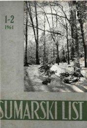 ÅUMARSKI LIST 1-2/1964