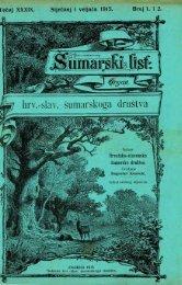 ÅUMARSKI LIST 1-2/1915
