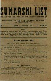 ÅUMARSKI LIST 1/1924