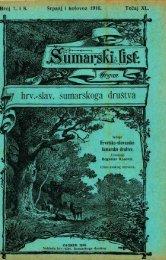 ÅUMARSKI LIST 7-8/1916