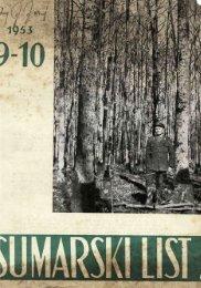 ÅUMARSKI LIST 9-10/1953