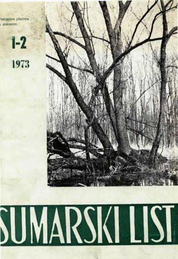 ÅUMARSKI LIST 1-2/1973