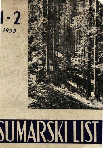 ÅUMARSKI LIST 1-2/1955