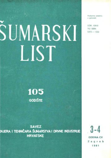ÅUMARSKI LIST 3-4/1981