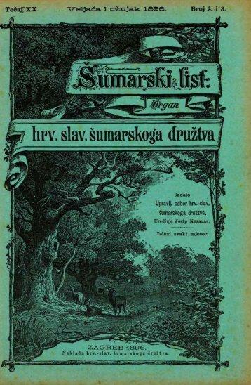 ÅUMARSKI LIST 2-3/1896