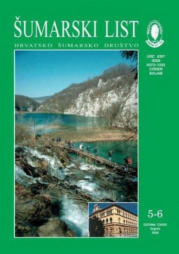 ÅUMARSKI LIST 5-6/2008 - HÅD