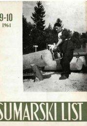 ÅUMARSKI LIST 9-10/1964