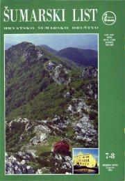 ÅUMARSKI LIST 7-8/1994
