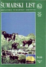 ÅUMARSKI LIST 9-10/1995 - HÅD