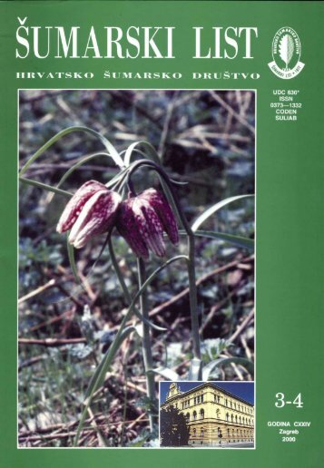 ÅUMARSKI LIST 3-4/2000