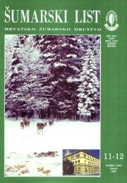 ÅUMARSKI LIST 11-12/1998 - HÅD