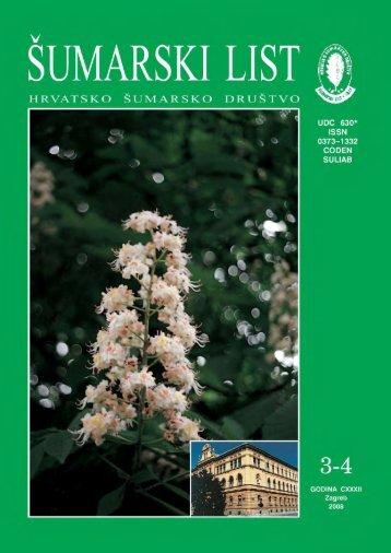 ÅUMARSKI LIST 3-4/2008 - HÅD