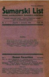 ÅUMARSKI LIST 1/1926