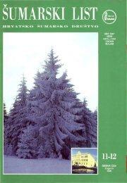 ÅUMARSKI LIST 11-12/1995