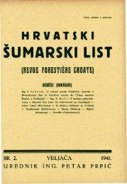 ÅUMARSKI LIST 2/1941 - HÅD