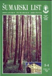 ÅUMARSKI LIST 3-4/1998 - HÅD