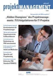 Projektmanagement ist Verhandlungs- management - Sumbiosis