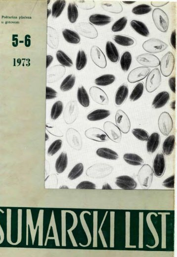 ÅUMARSKI LIST 5-6/1973