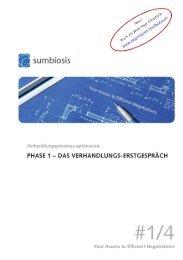 Phase 1 – Das Verhandlungs-Erstgespräch - Sumbiosis