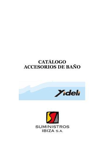 Copia de Catalogo Productos YIDELI amend - Suministros Ibiza, SA