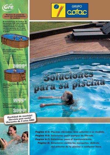 Filtro de arena para piscinas jacuzzi for Suministros para piscinas